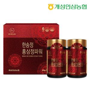 개성인삼농협 한송정 홍삼정파워 (240gX2병) 1박스