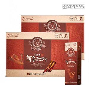 데일리 녹용 홍삼정 스틱 30포 2박스