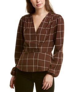 Wayf Crossover Blouse