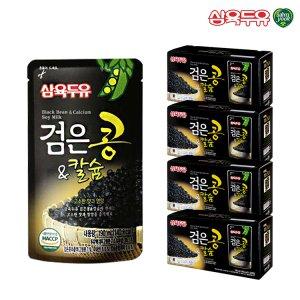 [깜짝특가] 삼육두유 검은콩&칼슘 파우치 190ml 80팩