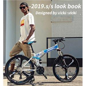 에어로휠자전거 26인치21단 접이식자전거 U-35