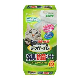 유니참 데오 패드 소취&항균 고양이용 무향 10P