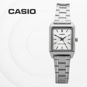 카시오 CASIO LTP-V007D-7E 메탈밴드 여성 손목시계