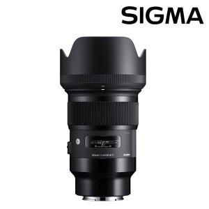 정품 시그마 Art 50mm F1.4 DG HSM 소니FE마운트/A 50