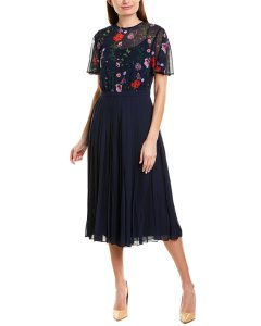 Ted Baker Pleated Culotte Jumpsuit