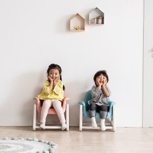 뚜뚜 높이조절 아이 의자 (핑크,블루)