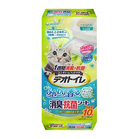 유니참 데오 패드 소취&항균 고양이용  향 10P