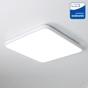 LED방등 이루 50W 아크릴 국산 사각 방등 LED삼성칩