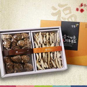 장흥표고버섯 선물세트 향신 슬라이스