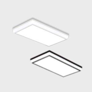 LED 거실등 듀오 50W 직사각