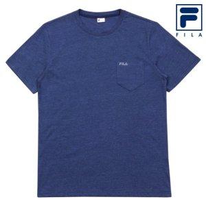 남성 라운드 티셔츠 FI4EWA2131M_NAY
