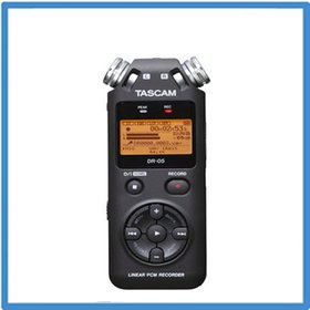 DL / Tasman cam / audio record / recorder / Tascam DR-05