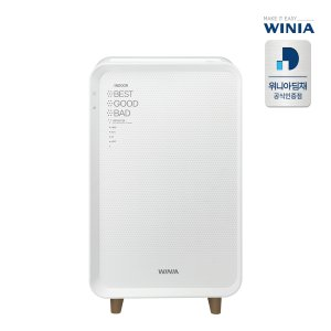 위니아 공기청정기 EPA14C0AEW 화이트 47.5㎡
