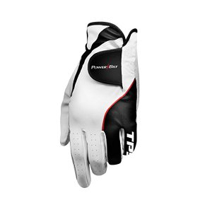 PowerBilt 해외쇼핑골프용품 골프장갑 PowerBilt Powerbilt TPS Cabretta Tour Golf Glove - Mens RH Large