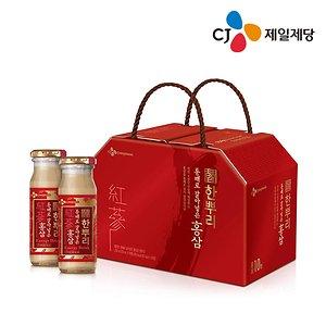 CJ 홍삼 한뿌리 120ml x30병 /인삼/흑삼/건강/음료