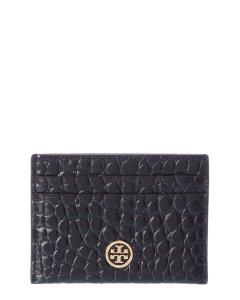 토리버치 로빈슨 가죽 카드케이스 Tory Burch Robinson Leather Card Case