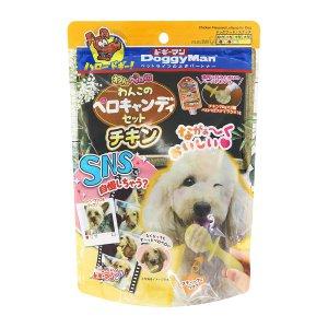 [유통기한 2021-01-09] 도기맨 빼로캔디 치킨 140g 강아지사탕