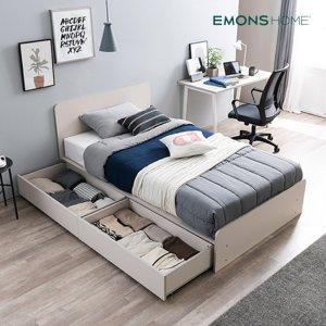 [에몬스홈] 베이직 수납형 침대 SS