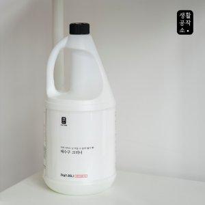 [생활공작소] 배수구크리너 1.85L x 6입