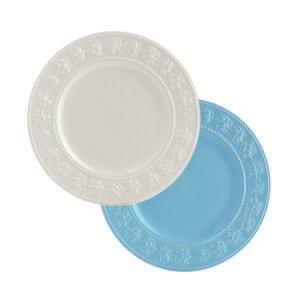 웨지우드 페스티비티 27cm 접시 2p (아이보리/블루)