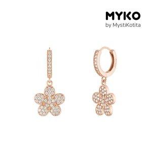 [미코주얼리] 14k 핀 쥬비아 귀걸이 MK3EC43