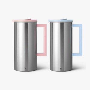 [JVR] 원터치 스텐물병 1.6L 2종 세트