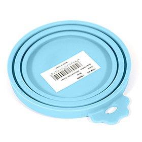 수퍼펫 100% 실리콘 캔 커버 블루
