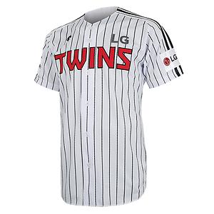 2017 LG 트윈스 어쎈틱 홈 유니폼