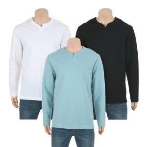 [갤러리아]남성] 슬럽 넥변형 티셔츠 (UATD504)