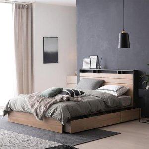 필로시 모던 멀티수납 퀸 침대(엔슬립 E3 Q)