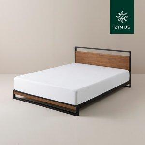 [당일출고] 아이언라인 하이브리드 침대 프레임(SS)
