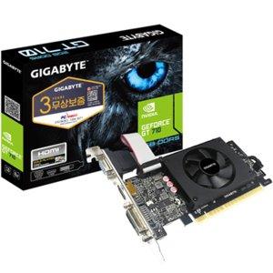 GIGABYTE 지포스 GT710 UD2 D3 2GB 미니미