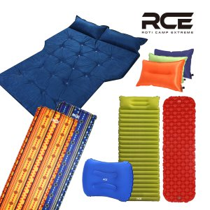 로티캠프 자충매트 3인용 트리플 에어매트 베개일체형