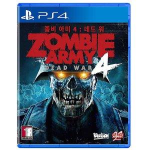PS4 좀비아미 4 데드 워 한글판 중고 당일발송