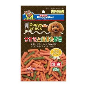 도기맨 스낵밸류 사사미 녹황색 채소 80g