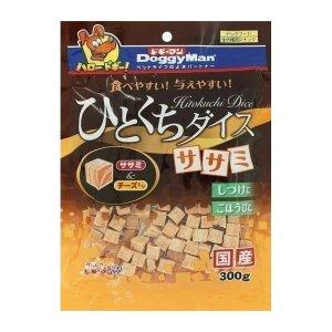 도기맨 한입크기 사사미 큐브 치즈 300g