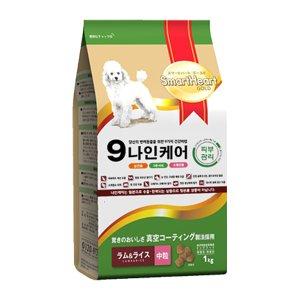 [럭셔리독 100G 증정] 나인케어 강아지 피부관리 어덜트 1kg