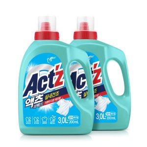 액츠 액체세탁세제 퍼펙트 실내건조 3.2L - 일반용 X2