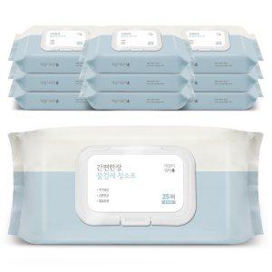 데일리워터 물걸레청소포 특대형 캡형 10팩(250매)