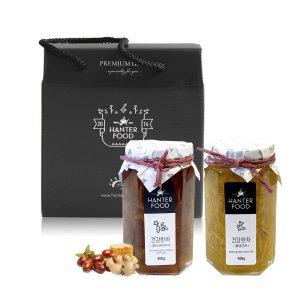 꿀건강차 선물세트 2호(400g×2ea)(명절선물추천)