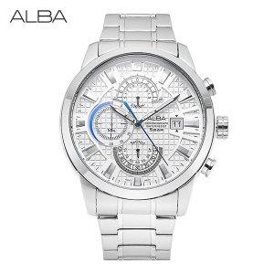 알바 ALBA AM3171X1 쿼츠 남성 메탈 43mm