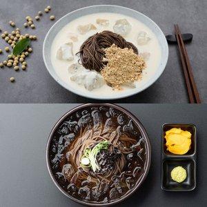 [45년전통]전주 메르밀진미집 콩국수 소바 맛집 밀키트 외