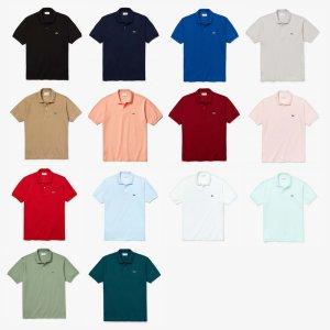 [정품] 라코스테 남성 클래식 폴로 셔츠 L1212 20S/S