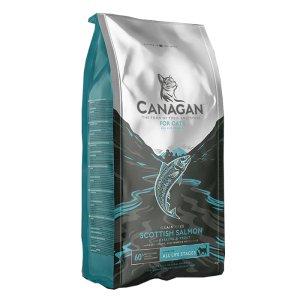 카나간 캣 드라이푸드 스코티쉬 살몬 그레인프리 고양이사료 8kg(간식증정)