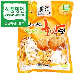명인 호박엿 300g/쌀조청 엿/전통엿 분야 명인 강봉석