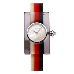 GUCCI 구찌 YA143523 Plexiglass 여성시계