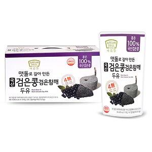 100%국산콩 검은콩 검은참깨 두유180ml 45팩