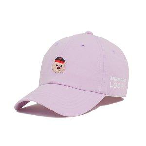 [티켓MD샵][LG트윈스] (4월 30일 출고) 잔망루피 에디션 키즈 모자 (퍼플)