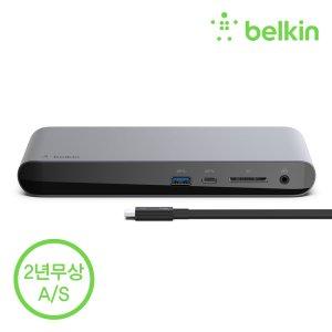 벨킨 썬더볼트 3 독 프로 멀티 허브 맥북 F4U097kr