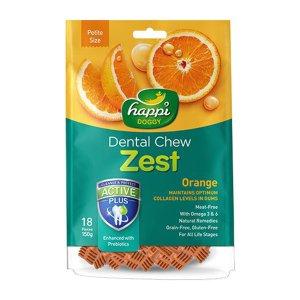 [사료샘플증정] 제스트 해피도기 덴탈츄 오렌지 S 18p 말랑껌 알러지프리